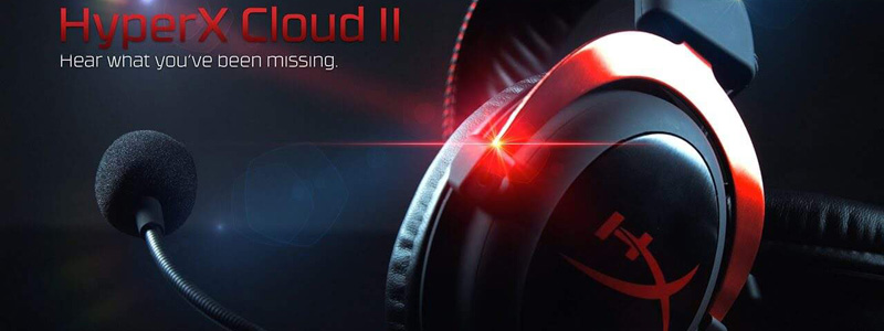 HyperX Cloud II The Best Gaming Headset under 100