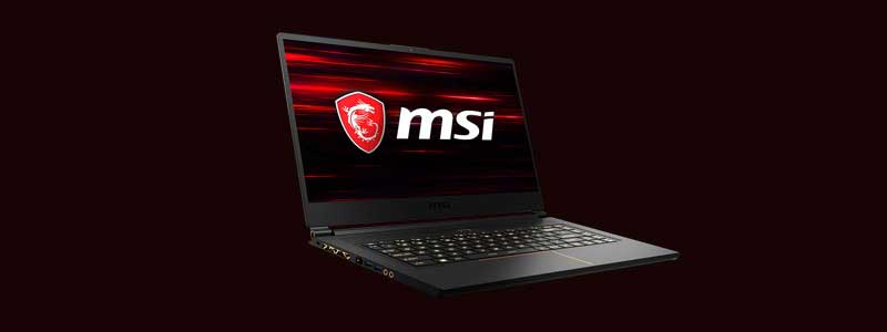 MSI GS65 Stealth Thin Gaming Laptop
