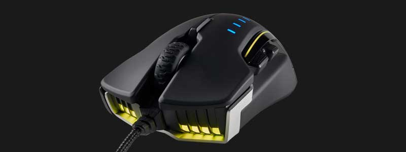 CORSAIR GLAIVE Gaming Mouse Review