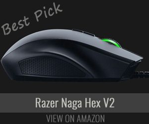 Razer Gaming Mouse Naga Hex-V2